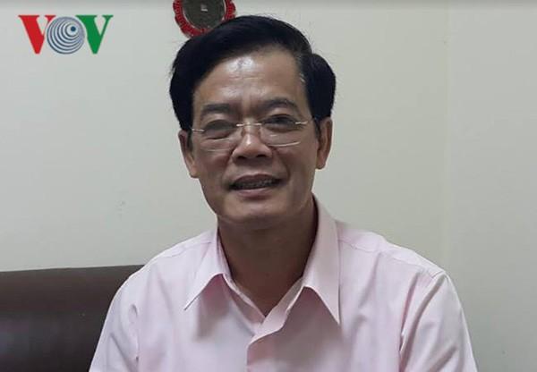 Nhà báo Nhị Lê- nguyên Phó Tổng biên tập tạp chí Cộng sản.