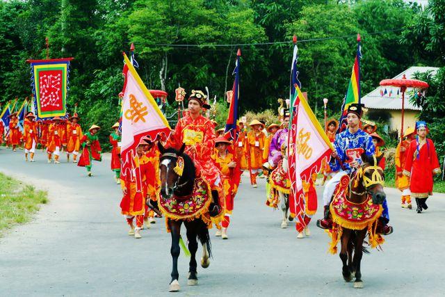 Đoàn ngự đại trong Lễ hội Nam Giao, Festival Huế.
