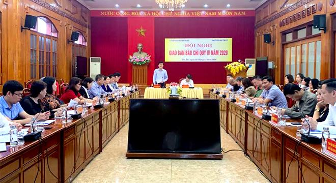 Phó Chủ tịch UBND tỉnh Nguyễn Chiến Thắng phát biểu chỉ đạo Hội nghị.