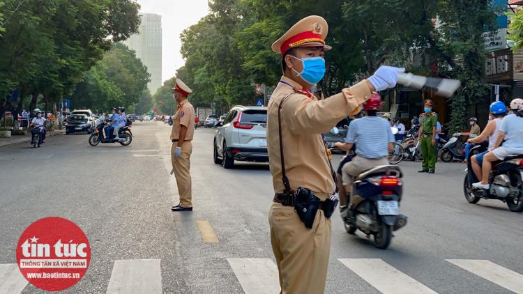 Hà Nội cấm một số tuyến đường phục vụ Hội nghị ASEAN 37. Ảnh minh họa