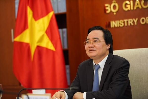 Bộ trưởng Bộ Giáo dục và Đào tạo Phùng Xuân Nhạ : Thầy cô là lực lượng quyết định thành công sự nghiệp đổi mới giáo dục.