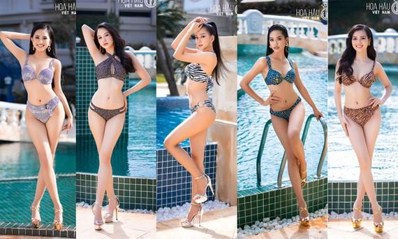 Hoa hậu Việt Nam 2020 tung bộ ảnh profile bikini của Top 35 Chung kết toàn quốc.