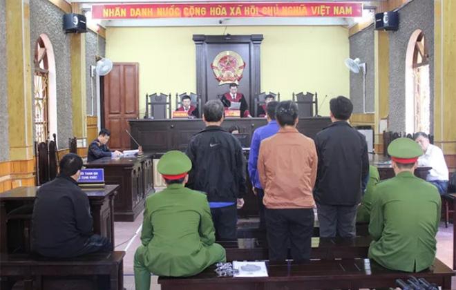 Quang cảnh buổi tuyên án