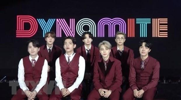 Các thành viên nhóm nhạc BTS.