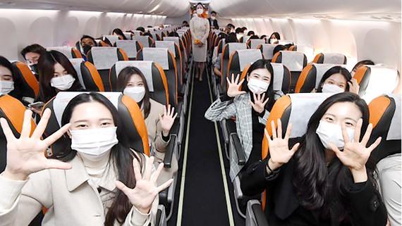 Những chuyến bay du lịch quốc tế không hạ cánh sẽ bắt đầu từ tháng 12.