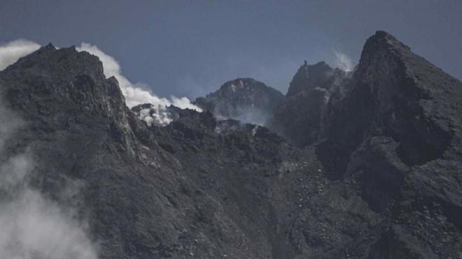 Núi lửa Merapi.