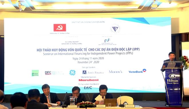Hội thảo huy động vốn quốc tế cho các dự án điện độc lập