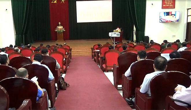 Quang cảnh Hội nghị tập huấn
