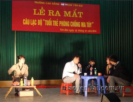 Trường Cao đẳng Sư phạm Yên Bái thường xuyên tổ chức các buổi tuyên truyền về công tác phòng, chống ma túy.