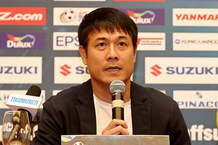HLV Nguyễn Hữu Thắng tự tin trước trận bán kết lượt về.