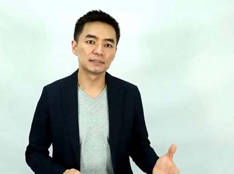Anh Cham Tang chia sẻ với mọi người về chiến lược marketing