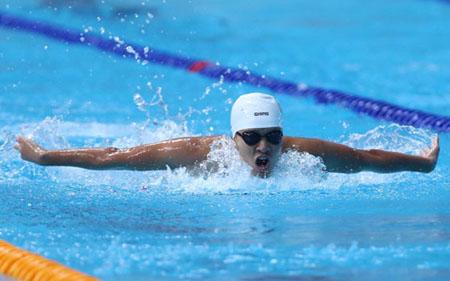 Kỷ lục của Ánh Viên bị phá ở Đại hội thể thao toàn quốc.