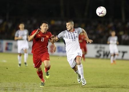 Việt Nam vs Philippines tại Mỹ Đình ở lượt về bán kết AFF Suzuki Cup 2018.