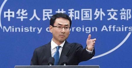 Người phát ngôn Bộ Ngoại giao Trung Quốc Cảnh Sảng