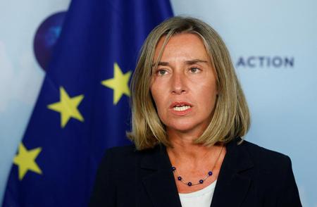 Bà Federica Mogherini.