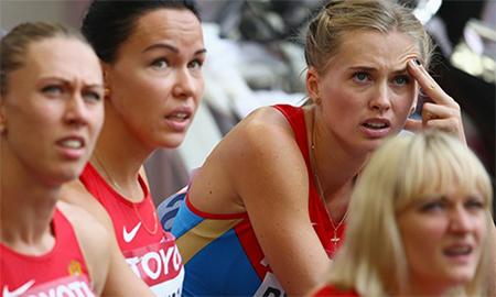 Các VĐV Nga vẫn phải chờ đợi mòn mỏi đến ngày được đại diện cho đất nước tranh tài tại các giải đấu quốc tế.