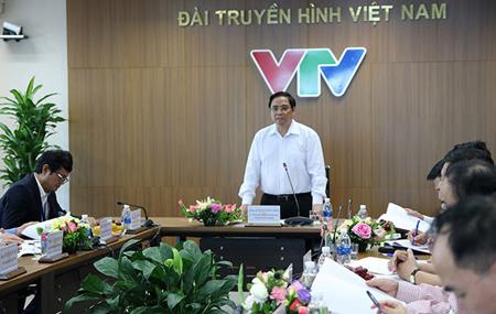 Đồng chí Phạm Minh Chính phát biểu kết luận cuộc họp.