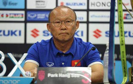 HLV đội tuyển Việt Nam Park Hang-seo.