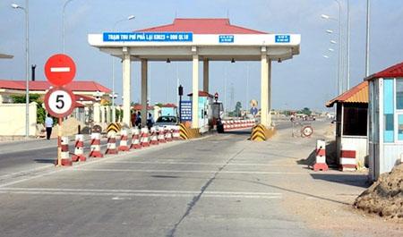Trạm thu phí Phả Lại (Km23+890) trên Quốc lộ 18 sẽ chính thức đi vào hoạt động từ 0h ngày 24/12.