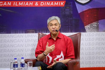 Ông Ahmad Zahid Hamidi.