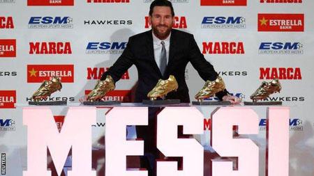 Messi đi vào lịch sử khi trở thành cầu thủ đầu tiên sở hữu 5
