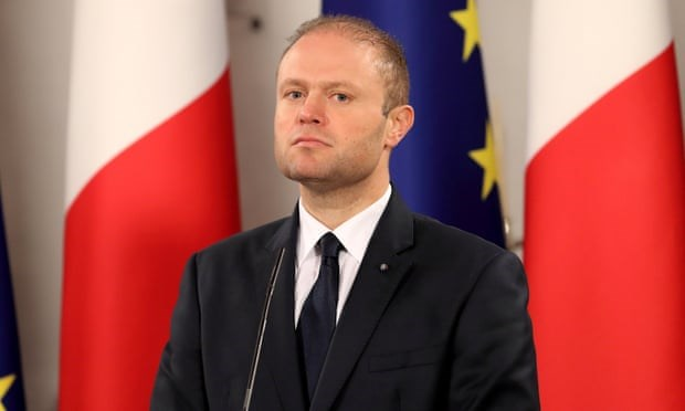 Thủ tướng Malta Joseph Muscat.