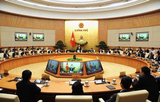 Chính phủ họp phiên thường kỳ tháng 11