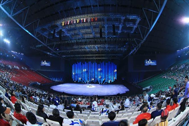 Lễ khai mạc Đại hội thể thao Đông Nam Á lần thứ 30 trên sân vận động trong nhà lớn nhất thế giới - Philippine Arena.