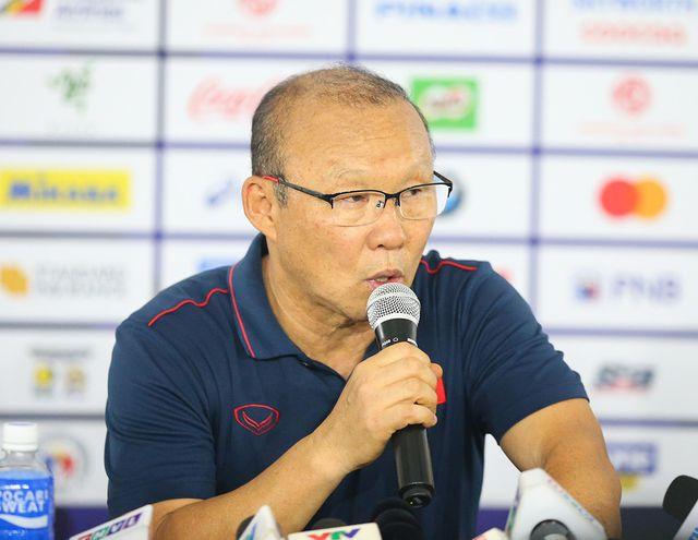 Huấn luyện viên Park Hang-seo hài lòng với các học trò