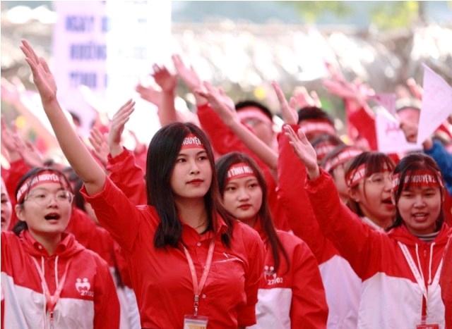 Sự kiện có sự tham gia của hàng nghìn tình nguyện viên trong nước và quốc tế