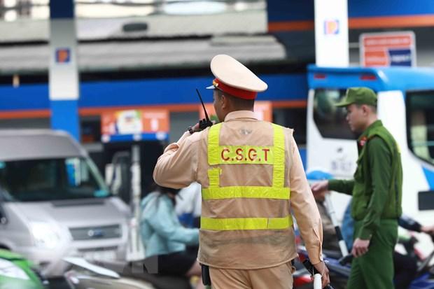 Lực lượng liên quân 141 (Tổ công tác 141) của Công an thành phố Hà Nội tăng cường xử lý vi phạm trên địa bàn Hà Nội.