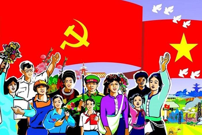 Lý tưởng cộng sản, chủ nghĩa xã hội, Chủ nghĩa Mác - Lênin, Tư tưởng Hồ Chí Minh là ánh sáng soi rọi, là kim chỉ nam đưa đất nước và dân tộc ta giành chiến thắng trong cuộc chiến đấu bảo vệ Tổ quốc.
