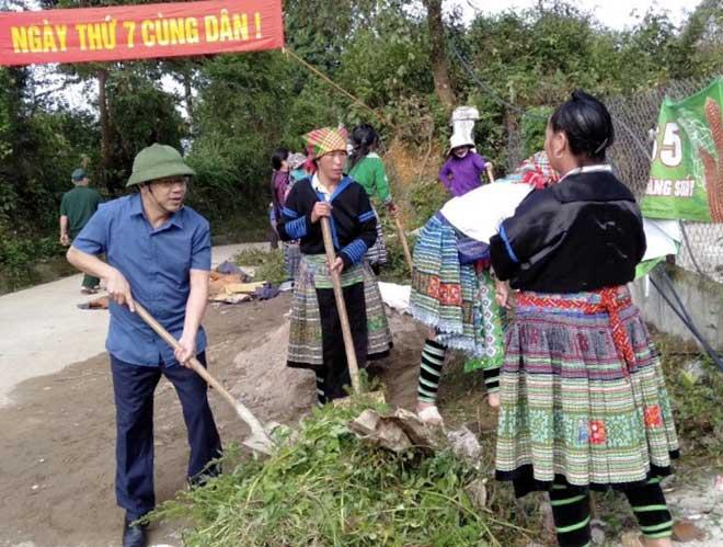 Ngày thứ 7 toàn dân là những hành động thiết thực được lan tỏa khắp nơi trong tỉnh Yên Bái.