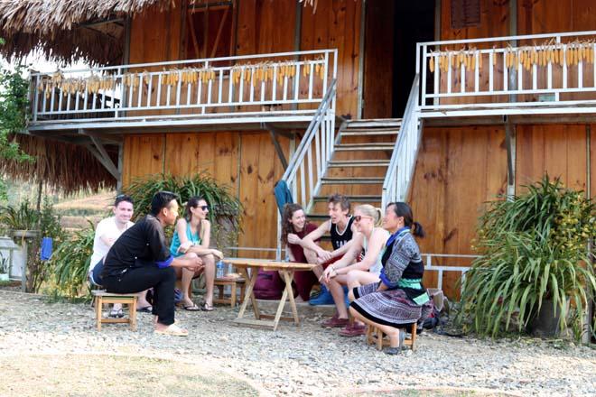 Du lịch cộng đồng đã và đang thu hút du khách tới tham quan, trải nghiệm.
