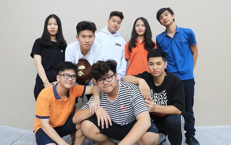 Các thành viên nhóm A3 Tech.