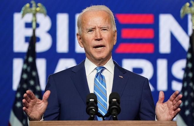 Tổng thống đắc cử Hoa Kỳ Joe Biden.