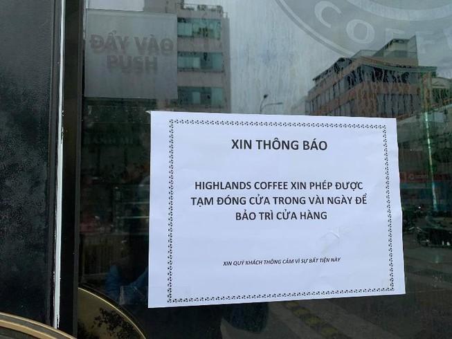Bệnh nhân 1347 từng đến địa điểm Highlands Coffee của Trung tâm thương mại Vạn Hạnh Mall (quận 10)
