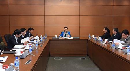 Chủ tịch Quốc hội Nguyễn Thị Kim Ngân chủ trì Phiên họp chuẩn bị Hội nghị APPF - 26