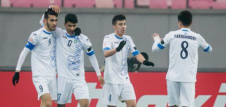 U23 Uzbeskitan gây sốc trước đương kim vô địch U23 Nhật Bản.