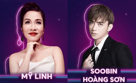 Diva Mỹ Linh và Soobin Hoàng Sơn.