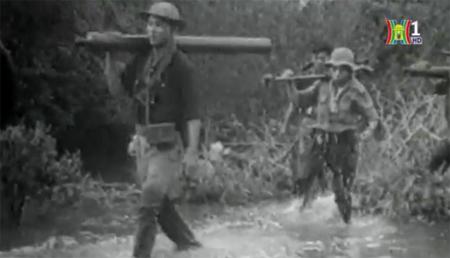 """Một hình ảnh tư liệu trong phim """"Xuân 1968 – Báo chí đồng hành cùng dân tộc""""."""