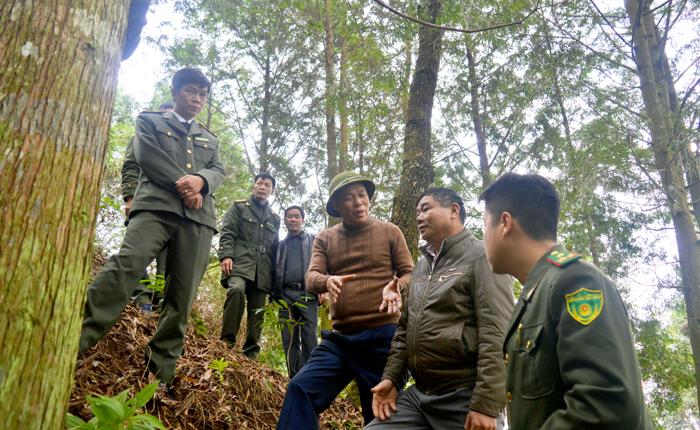 Đồng chí Nguyễn Văn Khánh – Phó Chủ tịch UBND tỉnh kiểm tra công tác bảo vệ rừng và phòng cháy chữa cháy rừng tại xã Hát Lừu, huyện Trạm Tấu