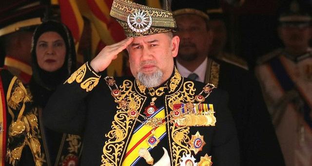 Quốc vương Malaysia Muhammad V.