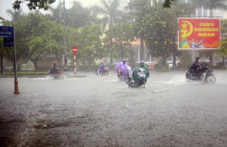 Lượng mưa một số nơi có khả năng đạt 30-50mm/24 giờ.