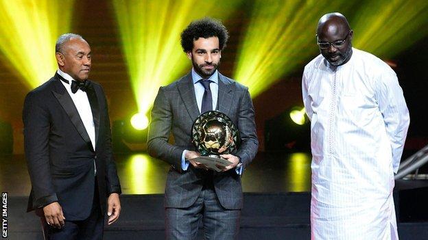 Salah nhận giải
