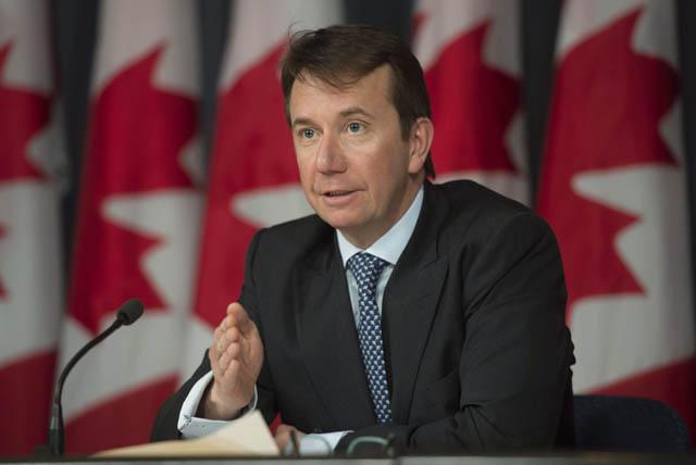 Chủ tịch Ủy ban Ngân khố quốc gia Canada Scott Brison (ảnh)  từ chức.