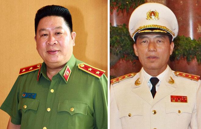 Ông Bùi Văn Thành (trái) và ông Trần Việt Tân.