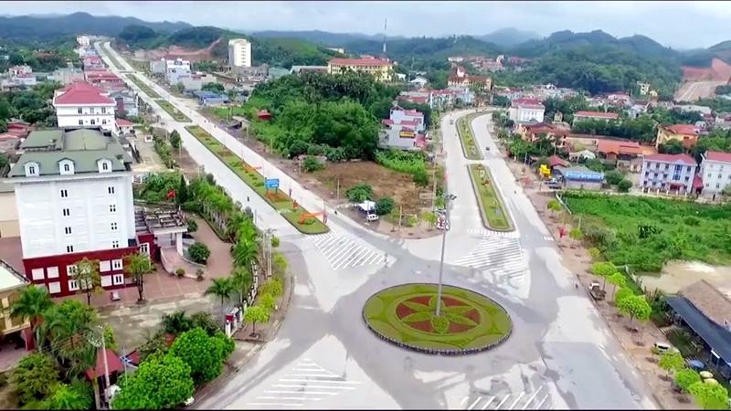 Một góc thành phố Yên Bái hôm nay.