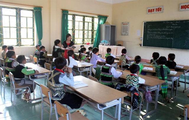 Triển khai chương trình GDPT mới, Bộ GD&ĐT đã ban hành kế hoạch đào tạo giáo viên theo lộ trình (Ảnh: Minh Huyền).