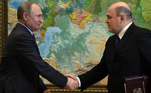 Tân Thủ tướng Nga Mikhail Mishustin. Ảnh: Kremlin.